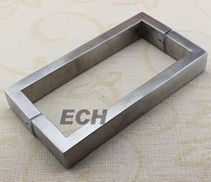 High Quality Stainless Steel Bathroom Glass Handle