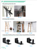 sliding barn door industrial furniture shipping container door with barn door hardware