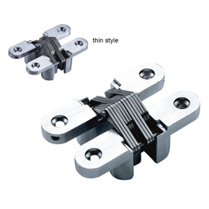 Zinc Alloy Invisible 180 Degree Door Concealed Hinge Hidden Door Hinges