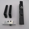 zinc alloy Diecast black Patio Door Handle Openable Window Handles