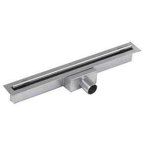 Slim Design Linear Drains,Linear Shower Drain with Copper Drain Body(300-2500mm)